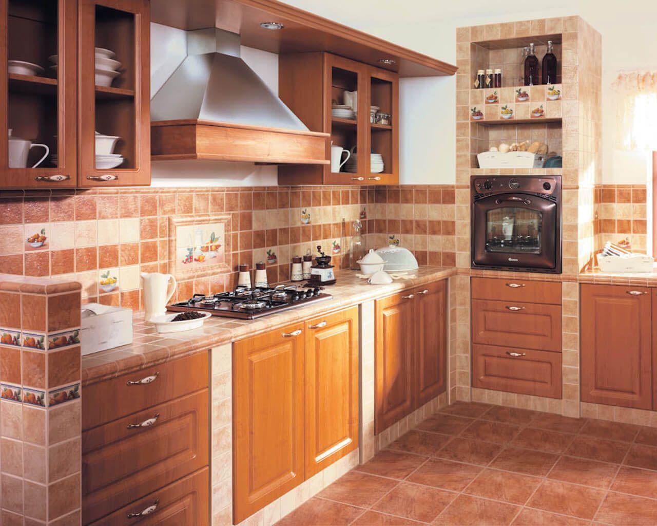 Ремонт керамической плитки на кухне