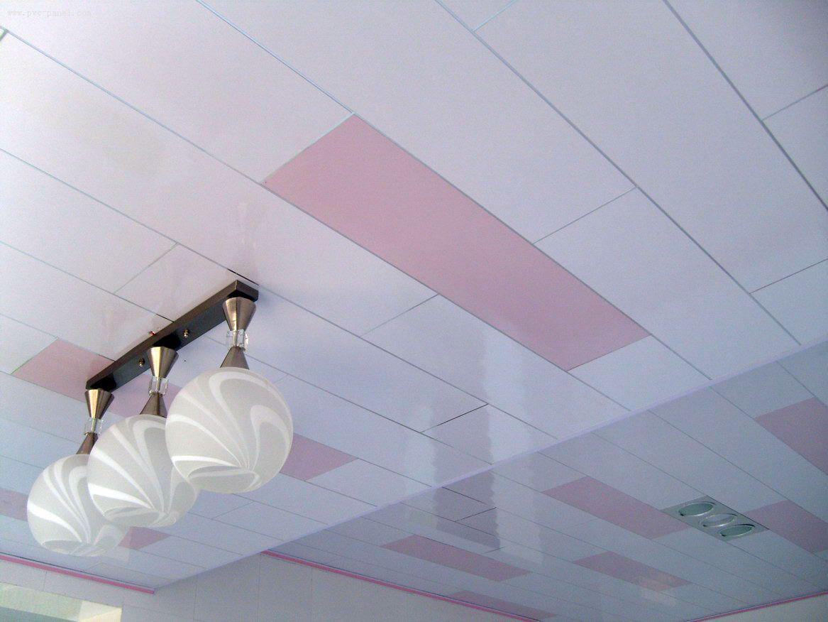 Отделка потолков пластиковыми панелями