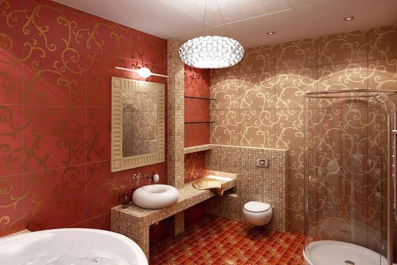 Отличительные черты евроремонта ванной комнаты