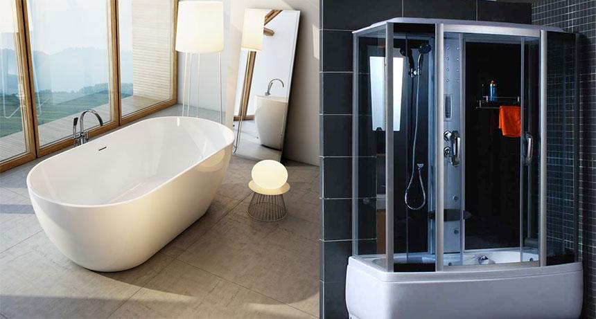 Проблема выбора ванна или душевая кабина?