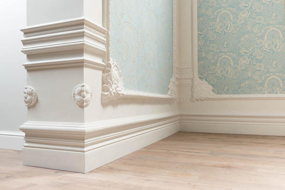 Плинтус — стильный элемент интерьера