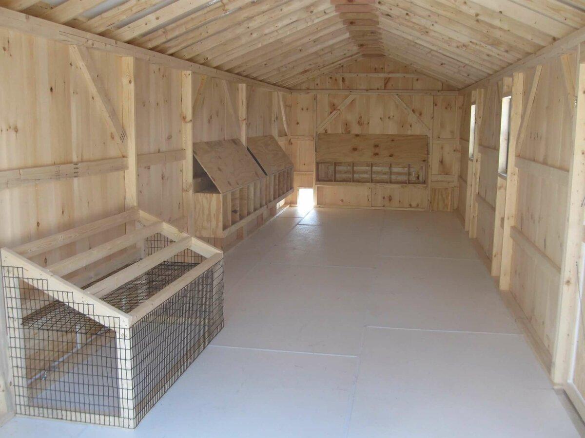 Строительство помещений для птиц и животных